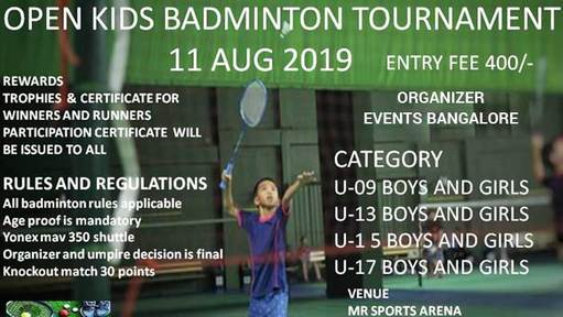 43 Upcoming Badminton Events | Tournament | YoGems